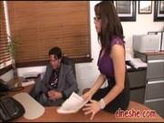 milf secretary fucked office chanel preston