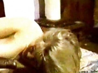 blonde white wife with darksome paramour homemade